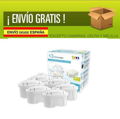 FILTROS Jarras BRITA MAXTRA Pack de 6 RECAMBIOS PURIFICA DURA de 6...