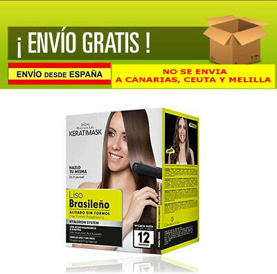 Be Natural Kit Alisado Brasileño Keratimask Sin Formol Libre De Sal