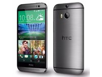 HTC M8 IN SILVER### UNLOCKED TO ALL NETWORKS###