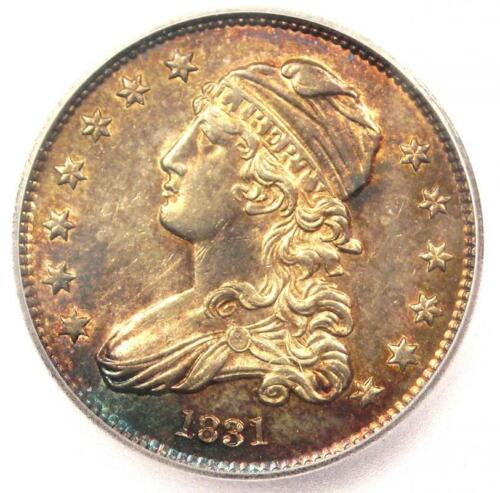 1831 Capped Bust Quarter 25C Coin - Certified ICG MS63 (BU UNC) - $4,380 Value!