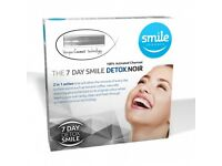 Teeth Brightening 7 day Charcoal Activated Detox Kit