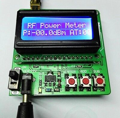 New -7516dbm Digital Display Rf Power Meter Can Set Power Attenuation