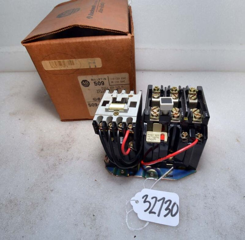 Allen Bradley 509-TOD Size 00 Full Voltage Starter (Inv.32730)