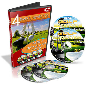 Best Golf Instruction Videos - Long & Short Game - 4 DVD Set