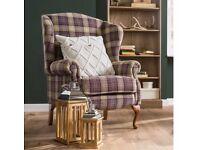 Brand New Bow Mar Chesterfield Armchair