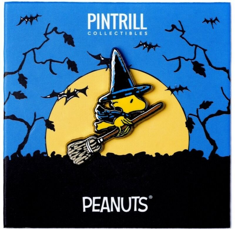 PINTRILL x PEANUTS - Woodstock Witch Pin *EXCLUSIVE* Halloween Collection NEW!