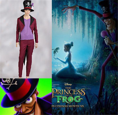 NEW The Princess and the Frog Dr. Facilier Cosplay - Princess And Frog Costume
