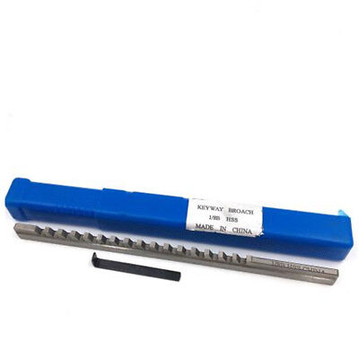 18 B Push-type Hss Keyway Broach Inch Size Cutting Tool For Cnc Machine