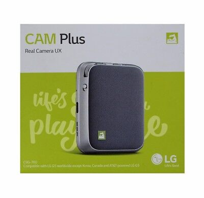 Genuine LG CAM PLUS Camera Expansion Module for LG G5 Smartphones CBG-700 Gray