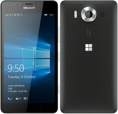 Microsoft Nokia Lumia 950 Dual SIM RM-1118 32GB UNLOCKED 5.2'' 20MP Smartphone