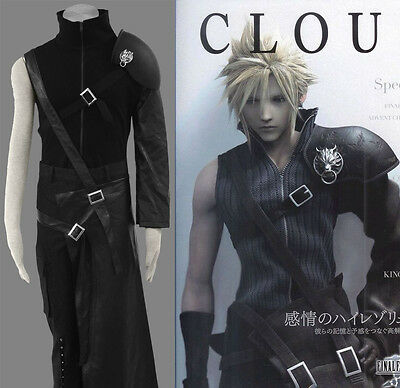 FF-7 FF-VII Final Fantasy VII 7 Cloud Strife - Final Fantasy Vii Cloud Strife Cosplay Kostüm