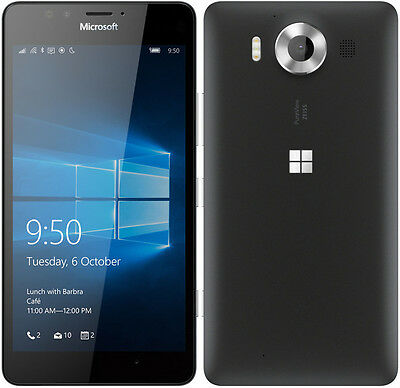 Microsoft Nokia Lumia 950 32Gb At T Unlocked Smartphone   Rm 1105 Usa