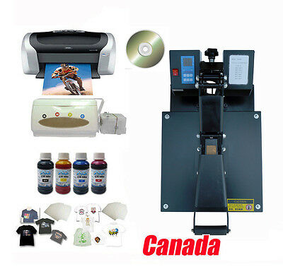 Heat Press Epson Printer Ciss Water Based Inks Inkjet T-shirt Transfer A4 Paper
