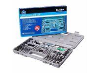 Brand New 40PCE Tap And Die Set Wrench Thread Restoring Set In Storage Case