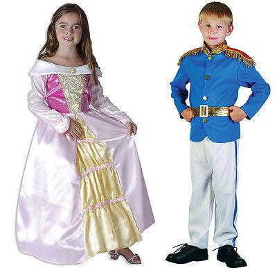 Kinder Märchen Prince Charming und Prinzessin Kostüme Anzug Kleid Cinderella (Märchen Und Märchen-kostüme)