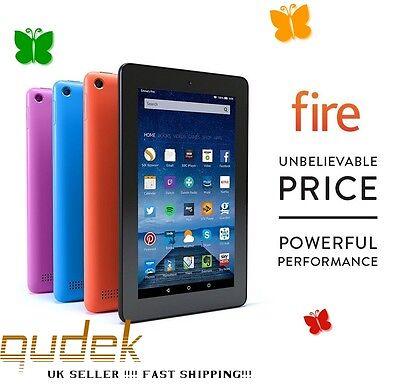 Amazon Kindle Fire 7 Inch 8GB Wi-Fi Tablet 5th Gen !!! - U.K. stock - BLACK!!!