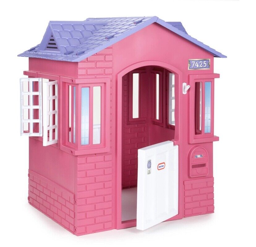 Little Tikes Cape Cottage House, Pink - Pretend Playhouse wi