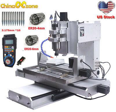Cnc 6040 5axis 2.2kw Engraver Machine Usb Cbc Router For Aluminum Mill Machine