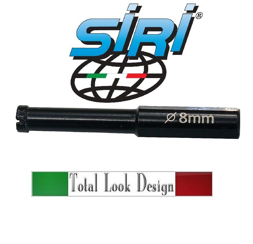 SIRI ITALY 6MM DIAMOND CORE DRILL HOLE CUTTER CERAMIC TILES PORCELAIN MARBLE