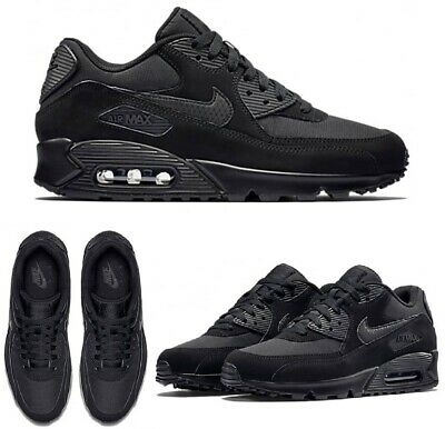 2020 NIKE AIR MAX 90 - Triple Black Mono -Men's- Sizes 6/7/8/9/10/11 - BRAND NEW