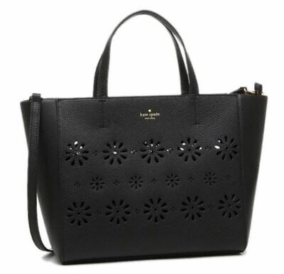 Kate Spade WKRU4231 Perforated Faye bag New with DEFECT