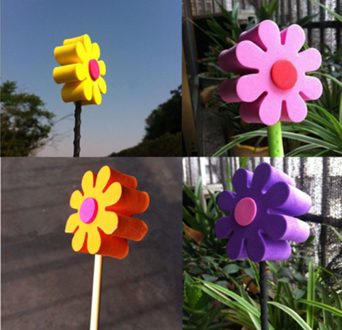 Cute Daisy Flowers Car Antenna Toppers Aerial Ball Topper Car Auto Decor