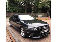 2008 (58 reg) Audi A4 2.0 TDI S Line 4dr 6 SPEED DIESEL FULL LEATHER FSH CAMBELT DONE 2 OWNERS!!
