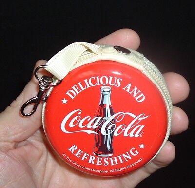 Coca Cola Coin Purse with Nylon Shopping Coke Bag carrier NEAT NINT! Free ship
