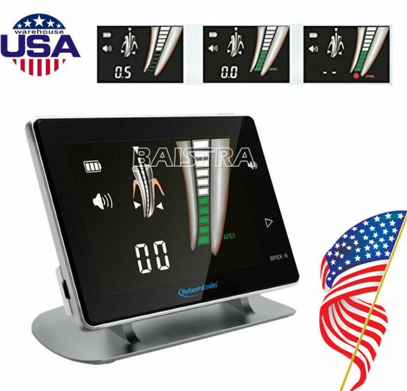 """USA Woodpcker Style Dental Endodontic Root Canal Apex Locator 4.5"""" LCD Screen"""