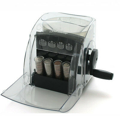 Royal Sovereign Qs-1 Is A 1 Row Manual Coin Sorter That Is Eco-friendly.no Elect
