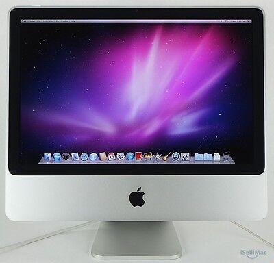 Apple 20  Imac 2 4Ghz C2d 250Gb 4Gb A1224 Mb323ll A   B Grade   Warranty