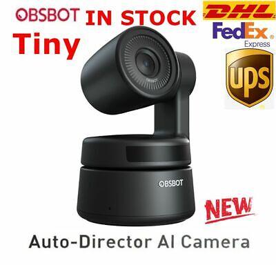 DHL OBSBOT Tiny 2-Axis gimbal Auto-Director 4K AI Camera Ai PTZ Webcam 1080P/30f