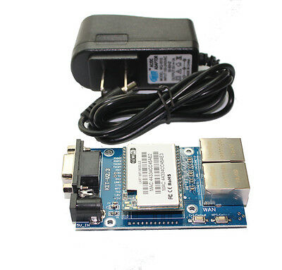 Q14081 RS232 RS485 Internal/Built-in Antenna WiFi Module with HLK-RM04 Test Boar