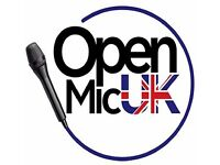 Manchester Auditions - The voice to win Open Mic UK 2017