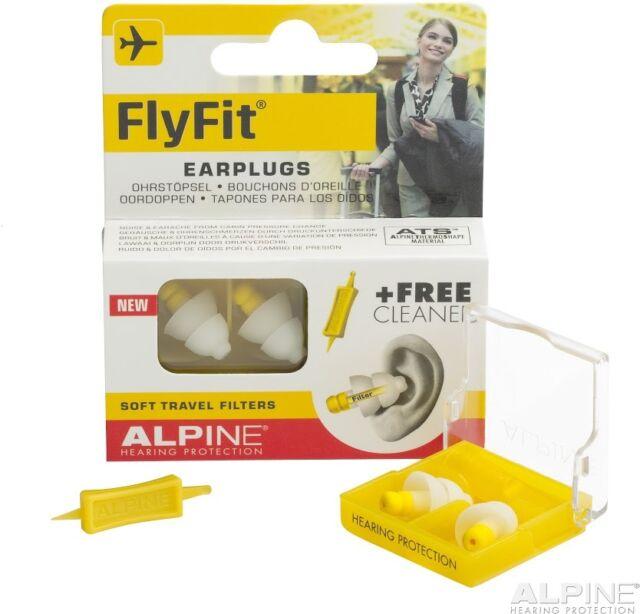 Alpine FlyFit  Gehörschutz für Unterwegs inkl. Cleaner - NEU