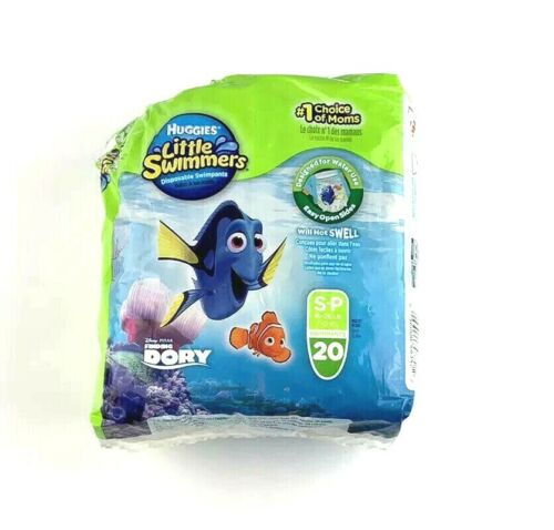 Huggies Little Swimmers Finding Dory Disposable Swim Pants S-P 20 Pack