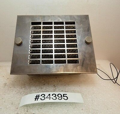 Kooltronic Kp-40 Control Enclosure Fan With Filter Inv.34395