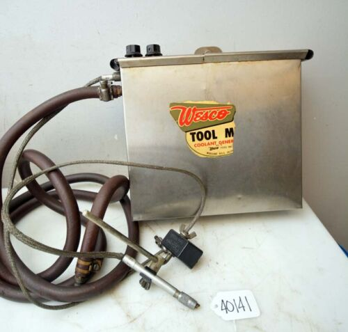 Wesco Tool Mist Coolant Generator (Inv.40140)