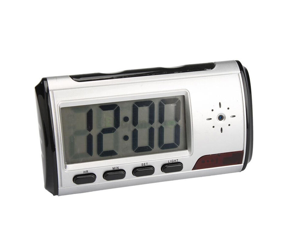 Spy Camera Alarm Clock Video Recorder