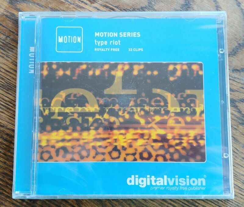 DigitalVision Photo CD - TYPE RIOT MOTION SERIES - Royalty Free Photography