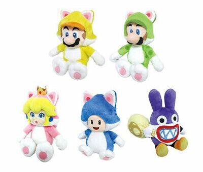Super Mario 3D World Little Buddy Plush Doll Cat Peach Rosalina Luigi Cute Toys - Mario Rosalina