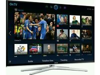 "Samsung 55"" LED smart 3D wifi tv built USB MEDIA PLAYER HD FREEVIEW and freesat Screen"