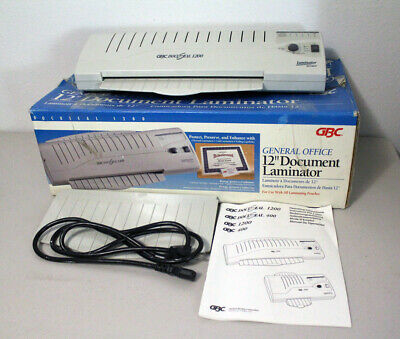 GBC General Office DocuSeal 1200 Document (Pouch) Professional 12