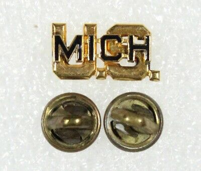 Army Officer's Collar Pin: US/MICH - Michigan National Guard (Meyer)
