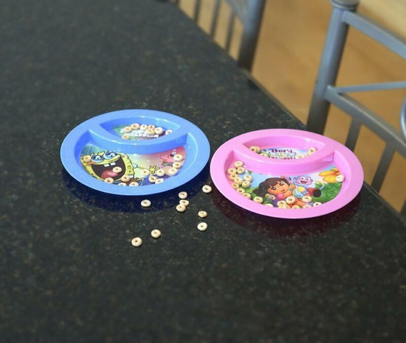 Spongebob Squarepants 2-Section Baby Plate