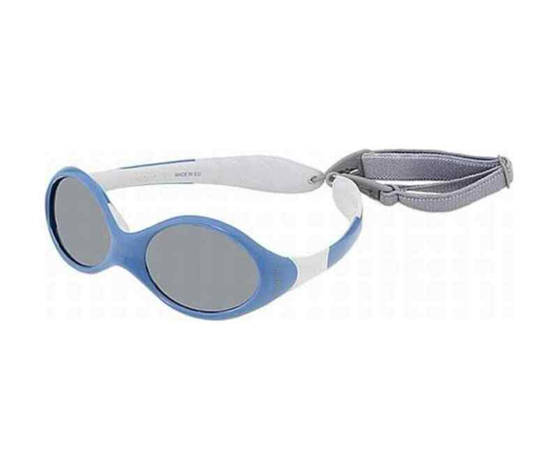 New JULBO Baby / Toddler SUNGLASSES Looping Cord Wraparound Reversible Ages 2-4