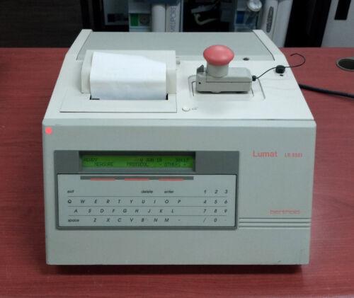 EG&G Berthold Lumat LB 9501 Single Tube Luminometer
