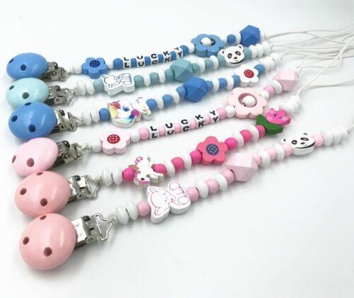 Häkeln Holzperlen Ball für Baby Beißring Schnullerkette DIY Halskette Beste 10