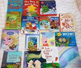 Huge Bundle 31 Children's books: Some pop-up, Stick on characters, Christmas & MORE!