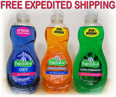 Palmolive Concentrated Dish Washing Detergent Liquid Soap 10 oz. 3 Pack, Bundle - Palmolive Dish Detergent